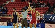 Büyük Erkekler Serbest Güreş Türkiye Şampiyonası Başladı