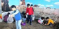 Büyükşehirden Çocuklara Arkeoloji Atölyesi