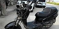 Çalınan Motosiklet Parçaları Sökülmüş Olarak Bulundu