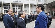 - ÇALIŞMA VE SOSYAL GÜVENLİK BAKANI FARUK ÇELİK ARTVİNDE