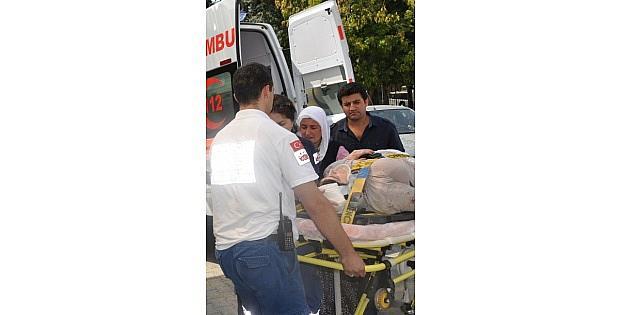 Çatidan Düşen Kadın Ağır Yaralandı