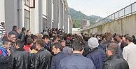ÇAYKURa Alınacak Bin 652 Kişi İçin Kura Çekimi Rize Kapalı Spor Salonunda Başladı