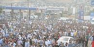 Cizre Ve Silopi'de Rojava'ya Destek Yürüyüşü