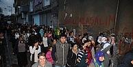 Cizre'de İzinsiz Gösterilere Polis Müdahalesi