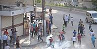 Cizrede İzinsiz Gösteriye Polis Müdahale Etti