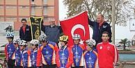 Çocuk Felci İçin Pedal Çeviren 11 Bisikletçi Sinop'a Ulaştı