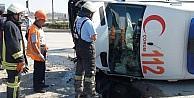 Çorum'da Zincirleme Trafik Kazası: 4 Yaralı