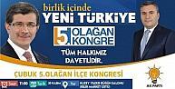 Çubuk Ak Parti İlçe Başkanı Demirbaş'tan Kongreye Davet