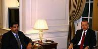 Cumhubaşkanı Erdoğan, Katar Savunma Bakanı Hamad Bin Ali El-atiyye'yi Köşk'te Kabul Etti