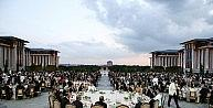 Cumhurbaşkanı Erdoğan, Cumhurbaşkanlığı Sarayı Personeline İftar Verdi
