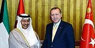 Cumhurbaşkanı Erdoğan Kuveyt Başbakanı İle Görüştü