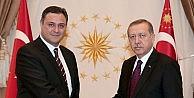 Cumhurbaşkanı Erdoğan, TÜBİTAK Başkanı Ergini Kabul Etti