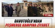 Davutoğlu, Peşmerge Eğitim Kampını Ziyaret Etti İZLE