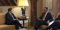 Davutoğlu, Portekiz Cumhurbaşkanı Cavaco Sılva İle Bir Araya Geldi