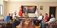 Dersimspor'dan Rektör İpek'e Ziyaret