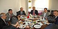 Diad Başkan Atabay'a Ve Üyelerine Kahvaltı Verdi
