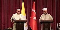 Diyanet İşleri Başkanı Görmez-papa Francis Ortak Basın Toplantısı..(2)