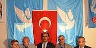 DSP Genel Bakanı Masum Türker Eskişehirde