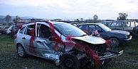 Düğün Aracı Kaza Yaptı: 7 Yaralı