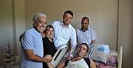 Edip Akbayramdan Hayranına Moral Ziyareti