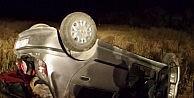Elazığda Otomobil Takla Attı: 6 Yaralı