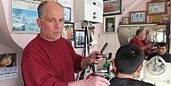 Elektrik Kesintisi Saç Kesiminde Nostalji Yaşattı