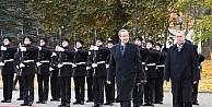Erdoğan, Estonya Cumhurbaşkanı Ilves'le Basın Toplantısı Düzenledi