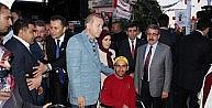 Erdoğan, Miting Sonrası Engelli Vatandaşlarla Görüştü
