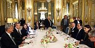 Erdoğan Ve Hollande Çalişma Yemeğinde Bir Araya Geldi