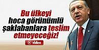 Erdoğan'dan Fethullah Gülen'e açık çağrı İZLE