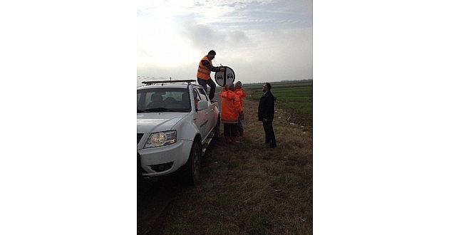 Ergene'de Trafik Ve İşaret Levha Çalişmalari Başladı