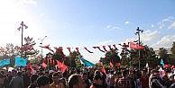 Erzurumda MHP Mitinginin Ardından Gergin Anlar Yaşandı