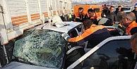 Erzurumda Trafik Kazası: 5 Askeri Personel Yaralı
