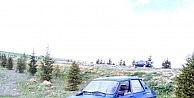 Eskişehirde Otomobil Şarampole Uçtu: 1 Ölü