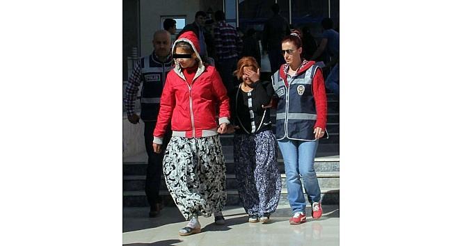 Evden Hırsızlık Yapan 3 Kadın Tutuklandı