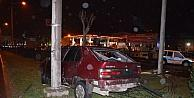 Fatsada Trafik Kazası: 1 Yaralı