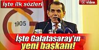 Galatasaray'ın 36. Başkanı Dursun Özbek İzle
