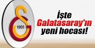 Galatasaray'ın yeni teknik direktörü belli oldu