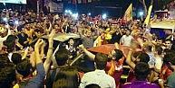 Galatasaraylı Kahramanmaraşlıların Derbi Sevinci