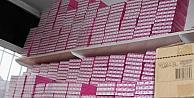 Gaziantepte Gümrük Kaçağı Kozmetik Ürünler Ele Geçirildi