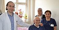 Gaziantepte Mide Kanseri Olan Hastaya Yeni Mide Yapıldı