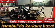 Güngören'de Tramvay Otomobille Çarpıştı: 2 Yaralı