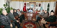 Hal Komisyoncular Derneğinden Başkan Yazgı'ya Ziyaret