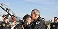 Hava Kuvvetleri Komutanı Öztürk, Solotürk'e Ait Gösteri Koreografisini Uçarak Denetledi