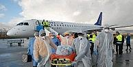 Havalimanında Ebola Tatbikatı