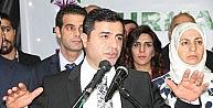 HDP Genel Başkanı Selahattin Demirtaş Elazığda