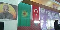 Hdp Kongresinde Öcalan Posteri, Türk Bayrağı Ve Sözde Pkk Bayrağı Asıldı