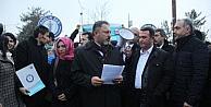 Hemşireye Dayak İddiası Protesto Edildi