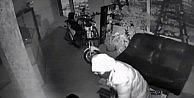 Hırsızı Güvenlik Kamera Sistemi Yakalattı