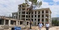 İlahiyat Fakültesi İnşaatı Sürüyor